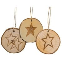 Tree Tag Star, Asst.