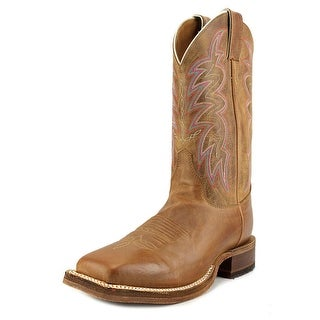 Justin Boots Sharply Square Toe Leather Western Boot