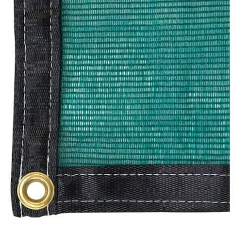 RSI Green 3 Season Knitted Shade Cloth 12FT X 40FT - 50% Shade Protection