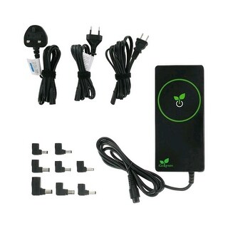 iGo Green Power Slim Universal World Laptop Charger (USA, Europe, UK, AU)