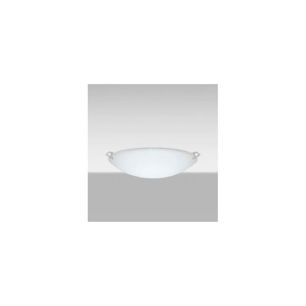 Besa Lighting 841925 Led Sonya Single Light 20 7 8 Wide Integrated Semi Flush Bowl Shaped Ceiling Fixture With Satin Frost