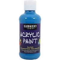 Fluorescent Acrylic Paint 8Oz-Blue