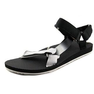 Teva Original Universal Gradient Men  Open-Toe Canvas Black Sport Sandal