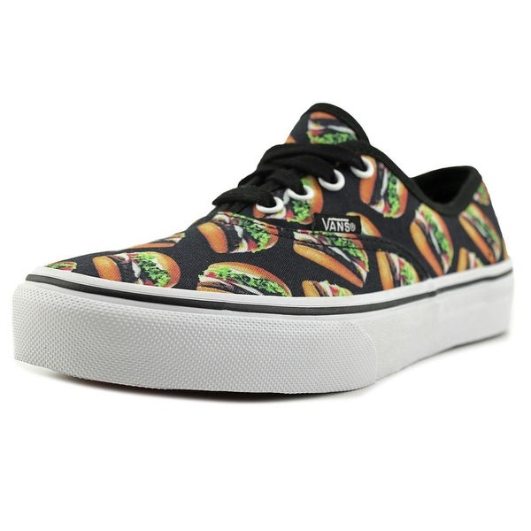Vans Authentic Women (Late Night) Black/Hamburgers Sneakers Shoes