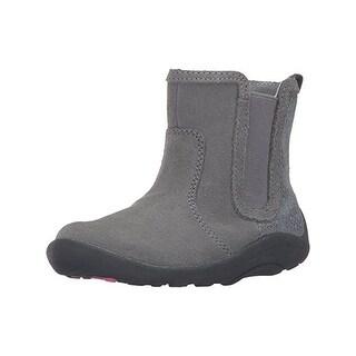 Stride Rite Girls Estefana Casual Boots Suede