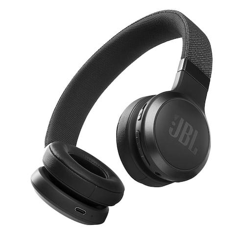 JBL Live 460NC Wireless On-Ear Noise-Cancelling Headphones