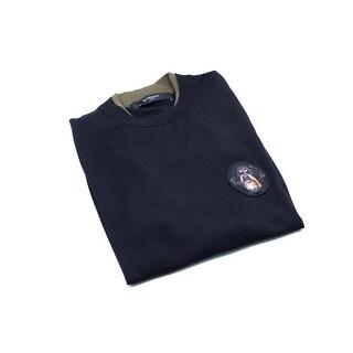 Givenchy Men's Black Cotton Dog Patch Sweatshirt Size Large - L