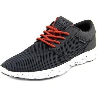 Supra Hammer Run Men Round Toe Synthetic Black Sneakers