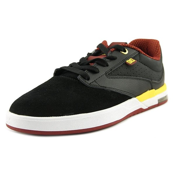 DC Shoes Wolf S Men Round Toe Synthetic Black Skate Shoe