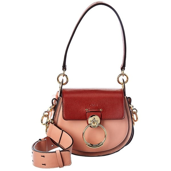 Chloe Tess Small Leather Shoulder Bag. Opens flyout.