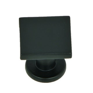 Stone Mill Hardware - Matte Black SoHo Cabinet Knobs (Pack of 5)