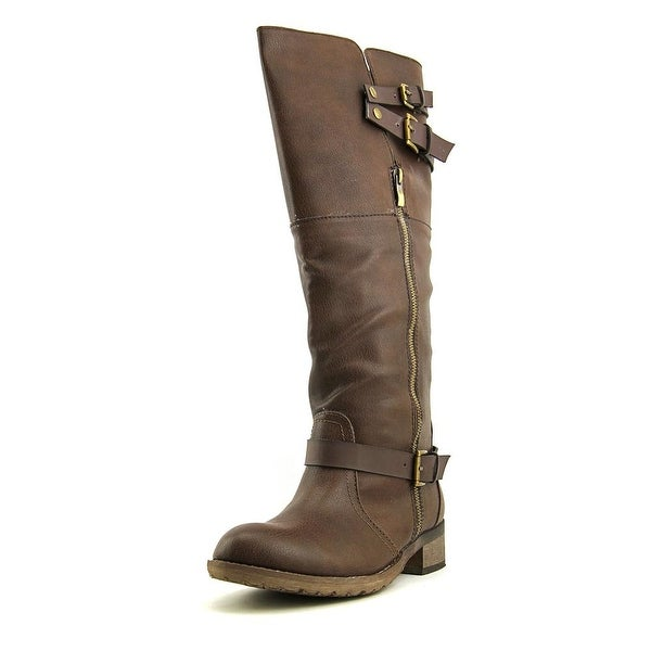 Rebels Chesney   Round Toe Synthetic  Knee High Boot