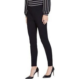 Link to I-N-C Womens Lace Stripe Casual Leggings, black, 4 Similar Items in Pants