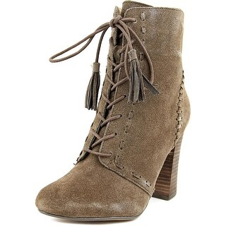 Report Leduc  Women  Round Toe Suede Brown Ankle Boot