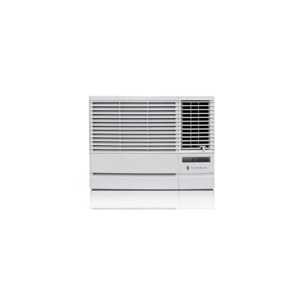Friedrich EP12G33B 12000 BTU 208/230V Window Air Conditioner with 11200 BTU Heater and Remote Control - White - N/A