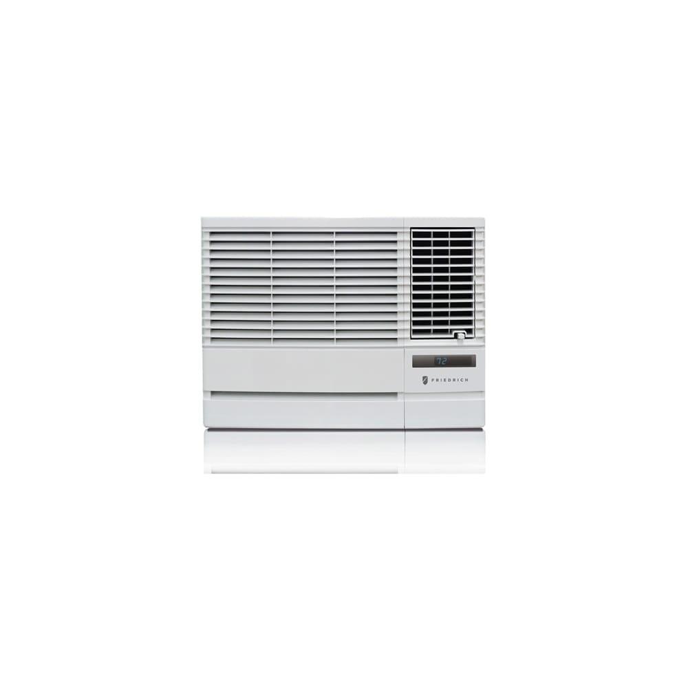 Friedrich EP18G33B 18000 BTU 208/230V Window Air Conditioner with 12000 BTU Heater and Remote Control - White - N/A
