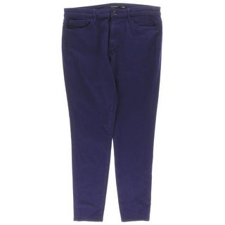 Lauren Ralph Lauren Womens Colored Skinny Jeans High Rise Premier - 12