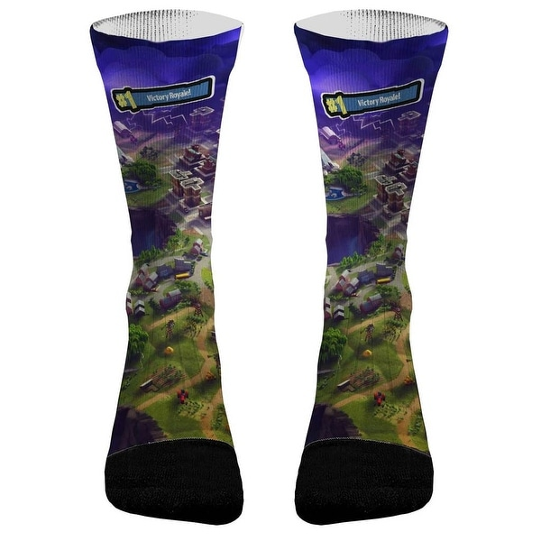 Shop Fortnite Athletic Compression Socks Free Shipping On Orders