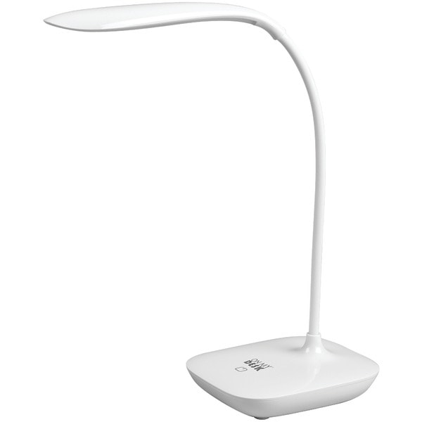 On My Desk 990007 Compact Rechargeable Led Desk Lamp With Touch Dimmer
