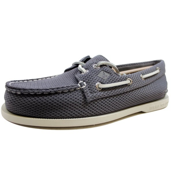 Sperry Men's A/O 2 Eye Mesh Grey STS15019