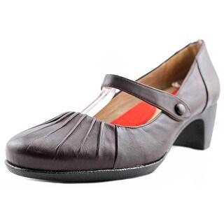Softwalk Ireland W Round Toe Leather Mary Janes