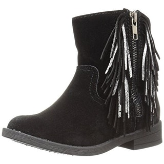 Sugar Girls Buttercup Ankle Boots Fringe - 2 medium (b,m)