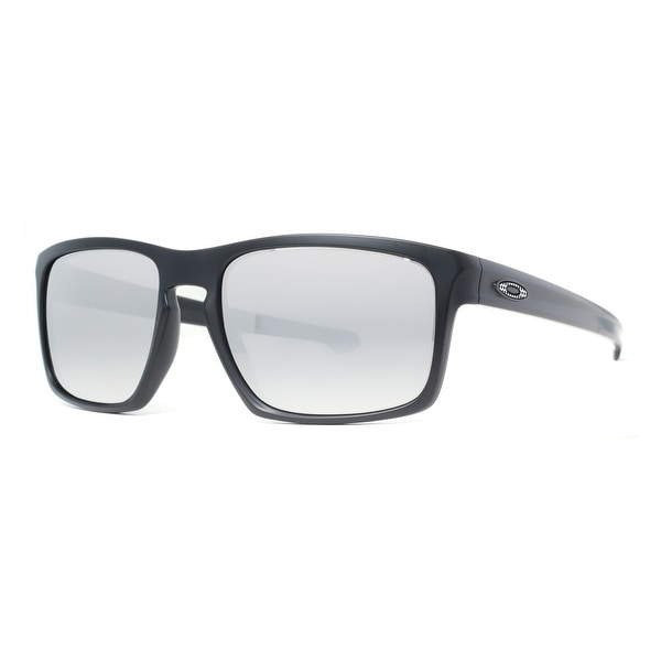 Oakley Silver Machinist OO9262-26 Matte Black/Silver Iridium Sunglasses - MATTE BLACK - 57mm-18mm-140mm