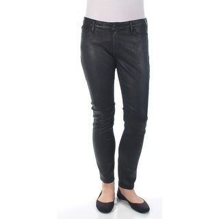 LUCKY BRAND $129 Womens New 1296 Black Skinny Casual Pants 10 B+B