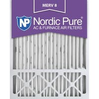 Nordic Pure 20x25x5 Honeywell Replacement Pleated MERV 8 Air Filters Qty 2