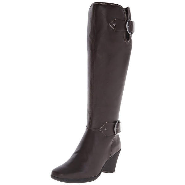 Aerosoles Womens Wonderful Closed Toe Knee High Fashion Boots