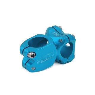 Blue Adjustable Mountain Bike Bicycle Alloy Short Handlebar Stem Riser 25.4mm