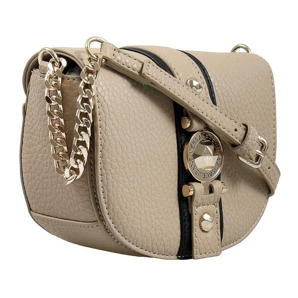 00cf12c0ddf2 Shop Versace EE1VSBBF5 EMDU 723+899 Taupe/Black Shoulder Bag - 6.5-5 ...