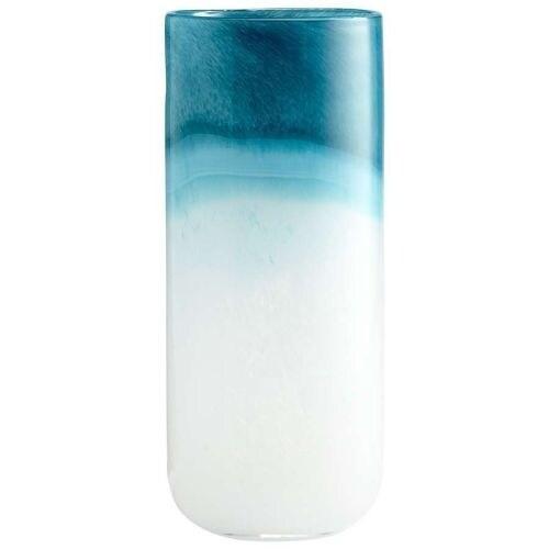 "Cyan Design 5877 13.5"" Large Turquoise Cloud Vase"