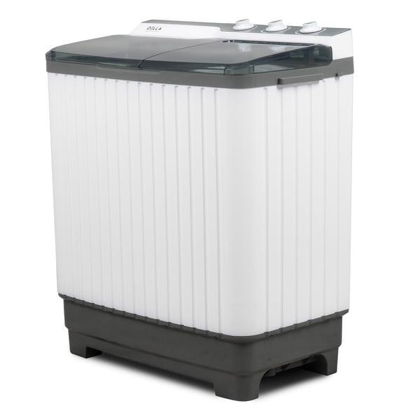 Shop Della 9kg Mini Compact Twin Tub Portable Washer Spin