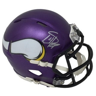 Stefon Diggs Signed Minnesota Vikings Riddell Mini Speed Helmet Fanatics