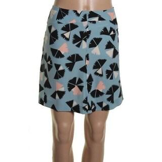 Marc by Marc Jacobs Womens Silk Pintuck Mini Skirt - 4