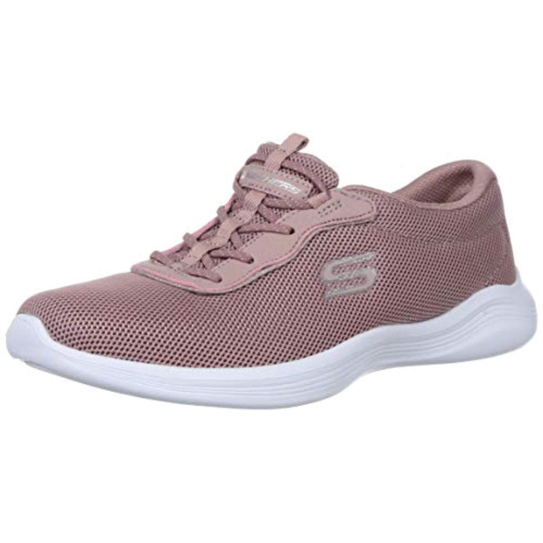 Skechers Envy Womens Slip On Sneaker Mauve 10