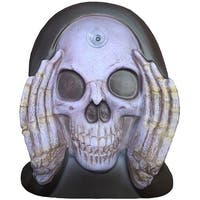 Scary Peeper Reaper Window Cling Halloween Decoration