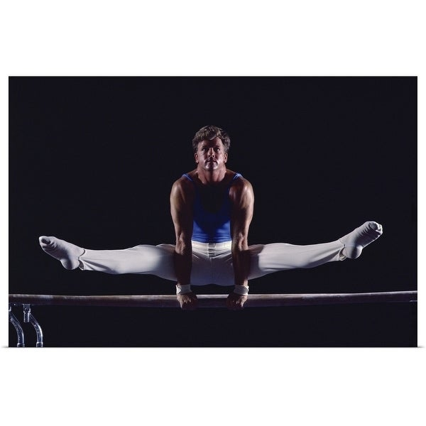 Shop Male gymnast on the bar - Multi-color - Free Shipping On Orders