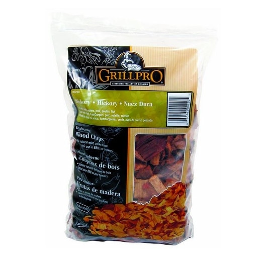 GrillPro 00220 Hickory Barbecue Wood Chips, 2 Lbs