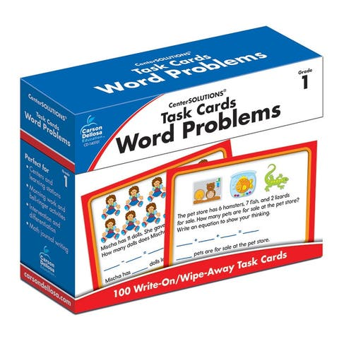 Task Cards Word Problems Gr 1