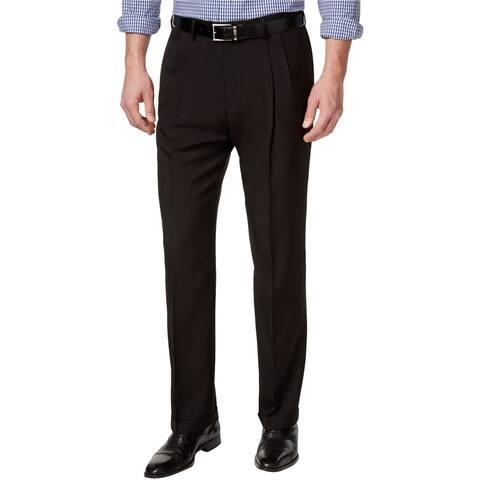 Haggar Mens Eclo Dress Pants Slacks
