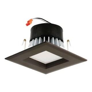Elco EL44230 4 Inch Single Light Square LED Retro Fit Recessed Trim