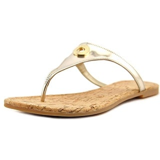 Cole Haan Tabitha Sandal II Open Toe Leather Thong Sandal