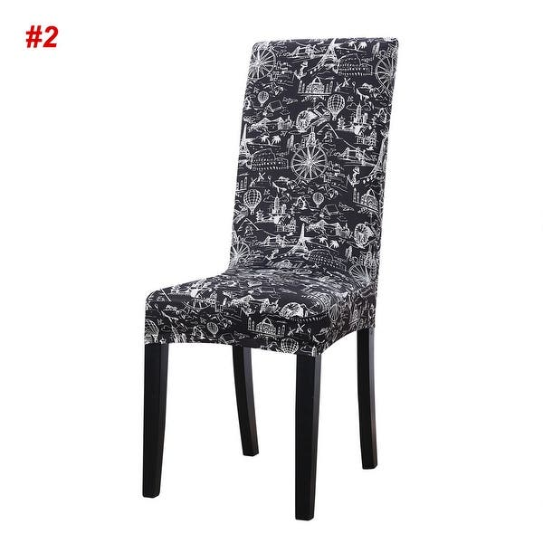 Surprising Shop Stretch Spandex Short Seat Slipcover Dining Chair Cover Uwap Interior Chair Design Uwaporg