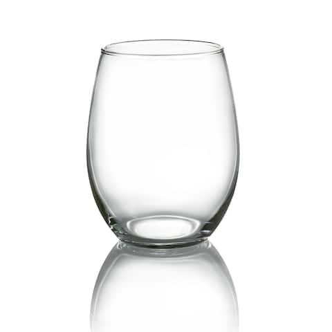 Luminarc Cachet 21 Ounce Stemless Wine Glass, Set of 4