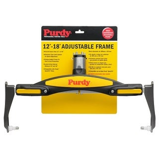 "Purdy 140753018 Adjustable Paint Roller Frame, 12"" To 18"""