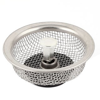 Home Basics 3 Piece Mesh Stainless Steel Strainer Set