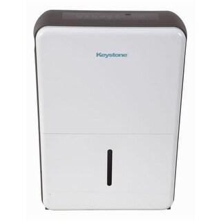 Keystone KSTAD507A Energy Star 50 Pt. Dehumidifier - White