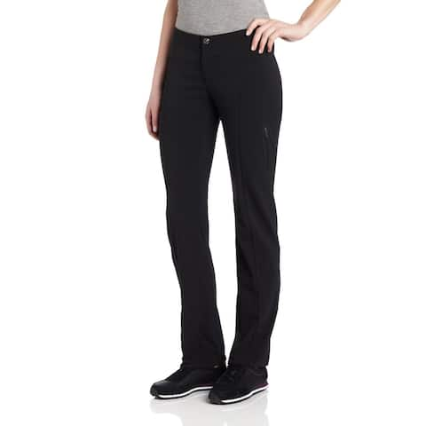 Columbia Women's Just Right Straight Leg Pant, Black, SZ 12R